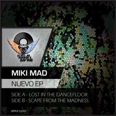 label artwork - Miki Mad - Nuevo EP