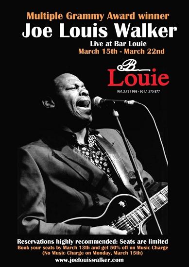 Joe Louis Walker - poster 2