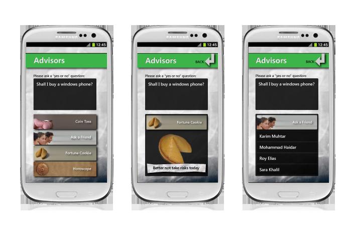 app - advisors