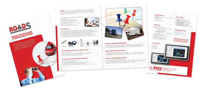 print - brochure roads